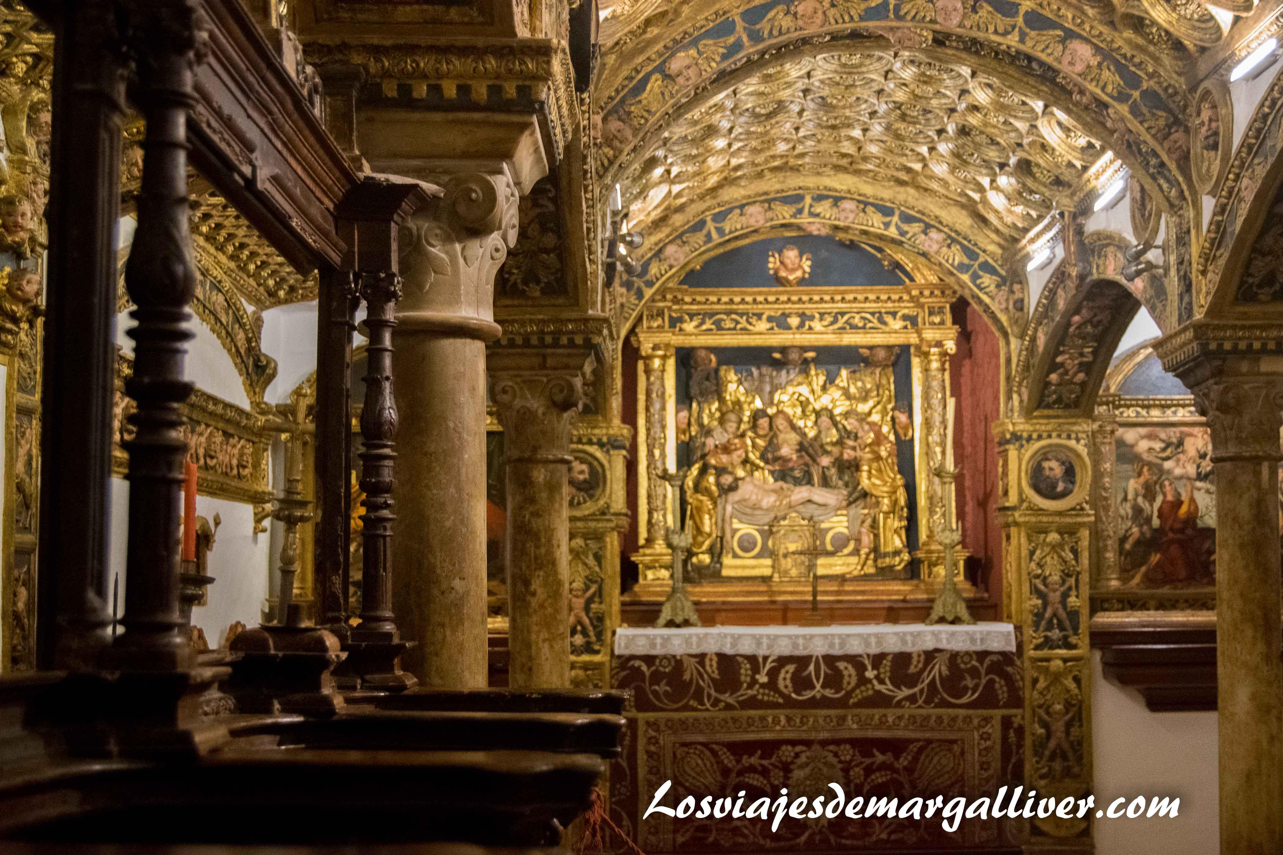 capilla colegiata de Osuna , a una hora de - Los viajes de Margalliver